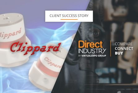 Image Clippard discusses its strong international presence with DirectIndustry